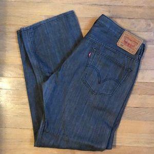 Levi Strauss Dark Gray Jeans